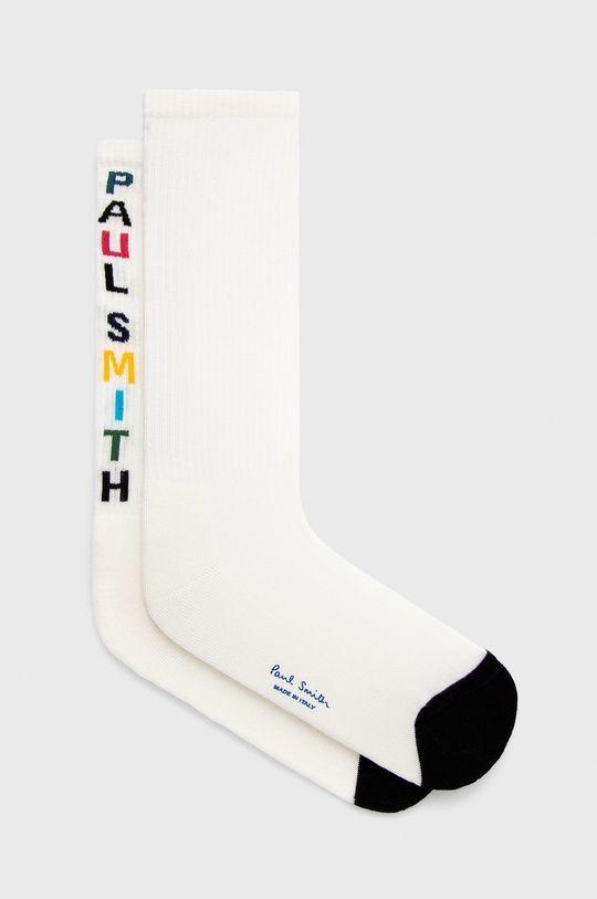 biela PS Paul Smith - Ponožky Pánsky
