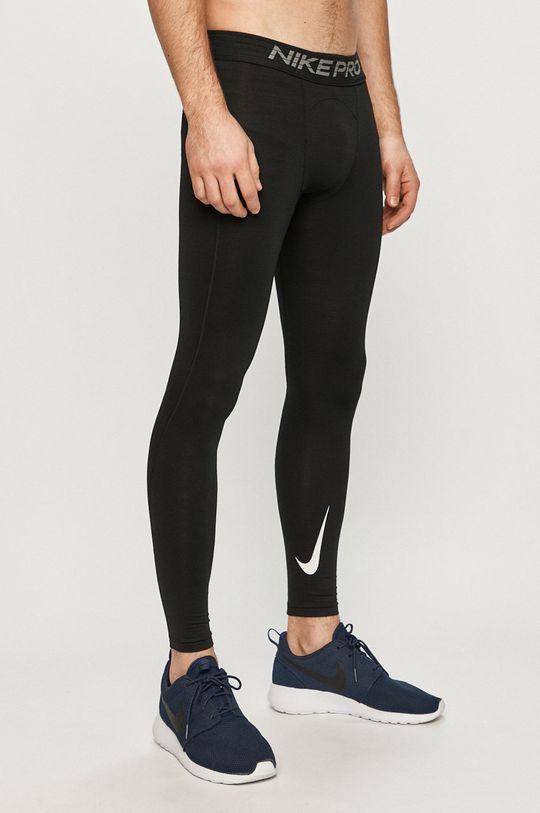 czarny Nike - Legginsy Męski