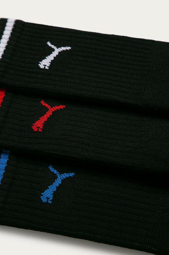 Puma - Ponožky (3-pak) čierna
