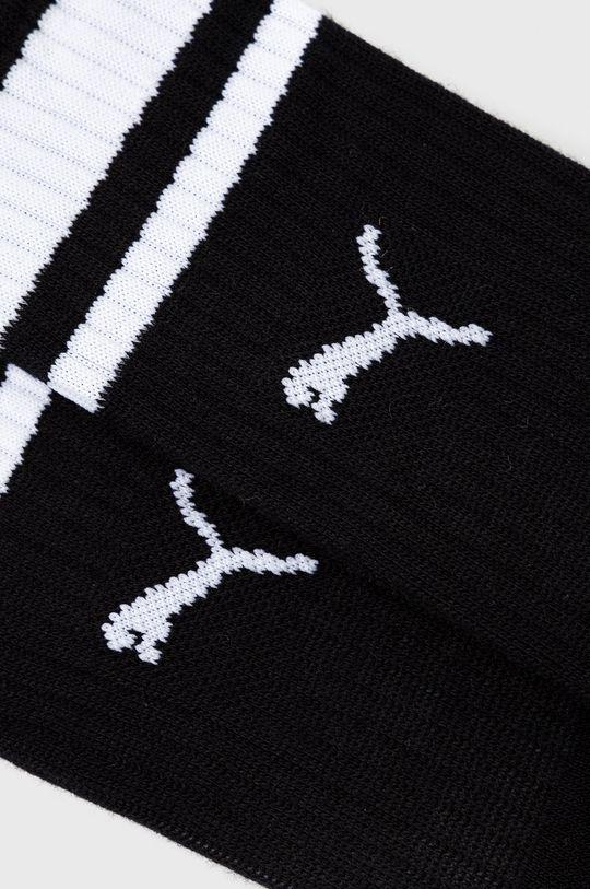 Puma - Ponožky (2-pak) čierna