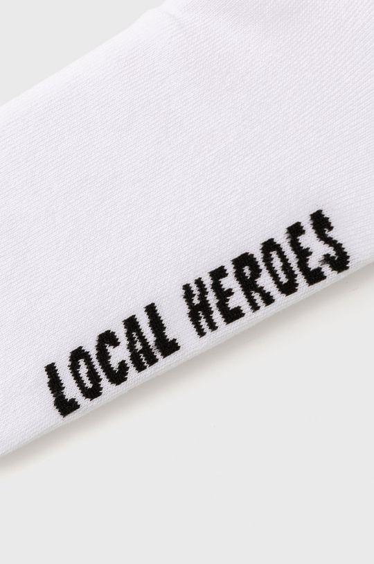 Local Heroes - Ponožky biela