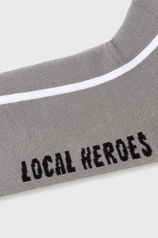 Local Heroes - Ponožky sivá
