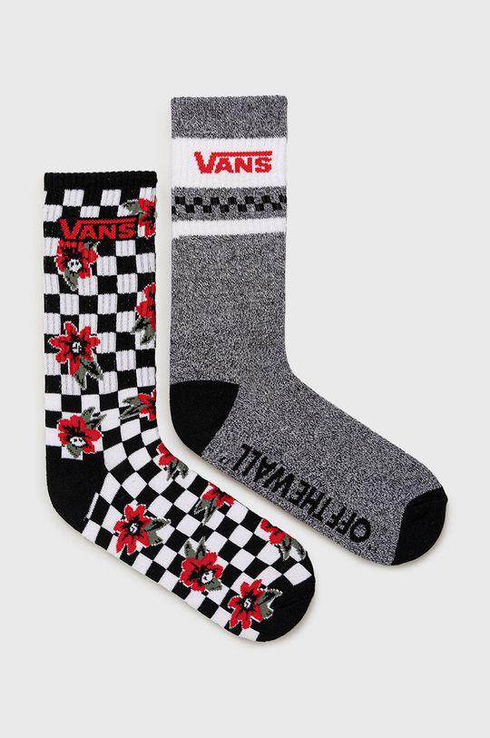 čierna Vans - Ponožky (2-pak) Pánsky