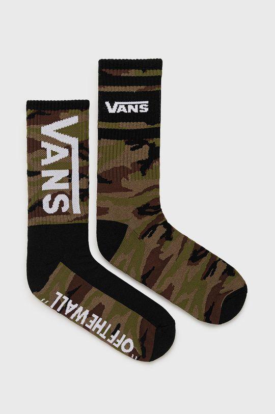 zelená Vans - Ponožky (2-pak) Pánsky