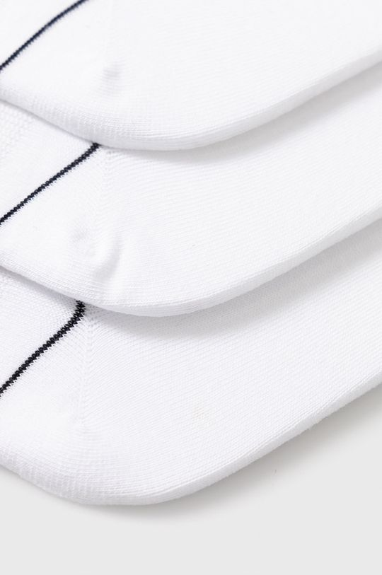 Dkny - Ponožky (3-pack) bílá