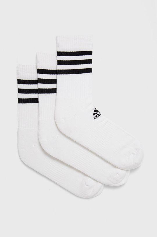 biela adidas - Ponožky (3-pak) Pánsky