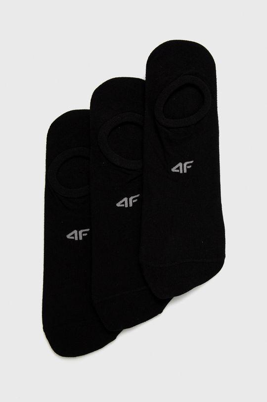 negru 4F - Sosete (3-pack) De bărbați