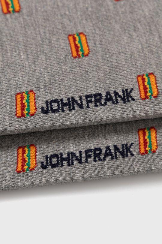 John Frank - Ponožky  80% Bavlna, 2% Elastan, 18% Polyamid