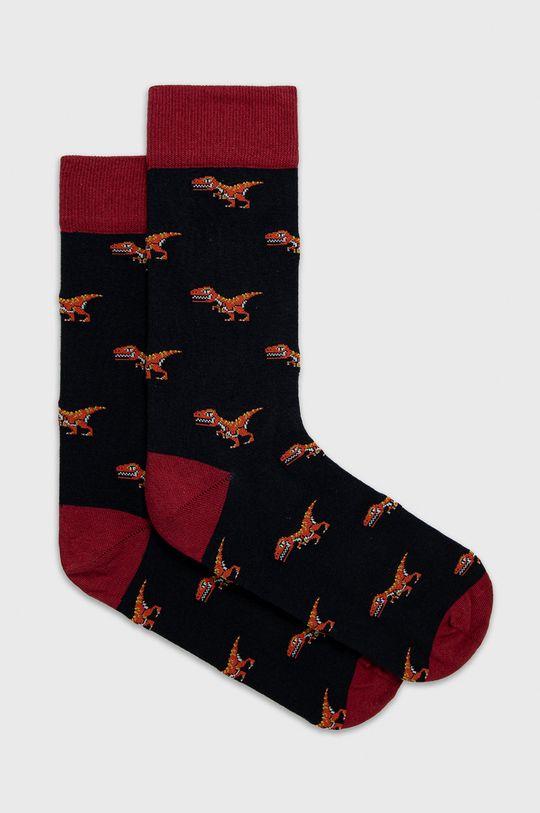 viacfarebná John Frank - Ponožky Pánsky