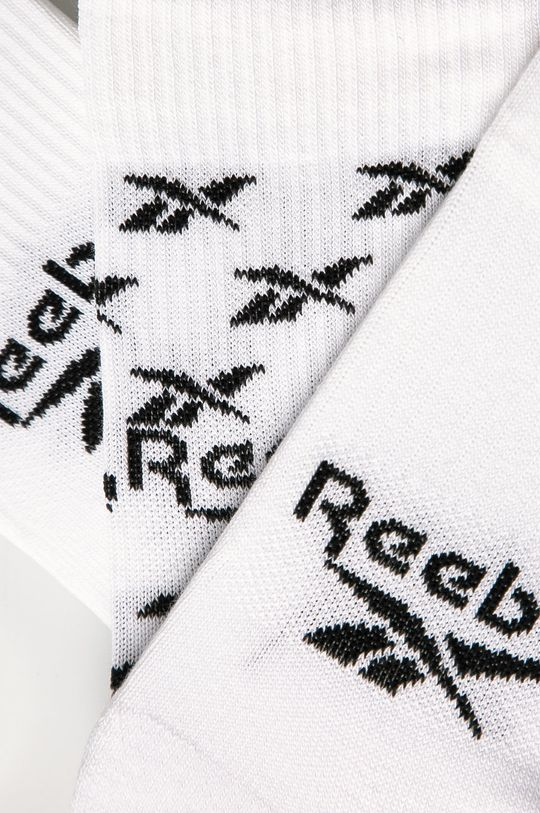 Reebok Classic - Skarpetki (3-pack) biały