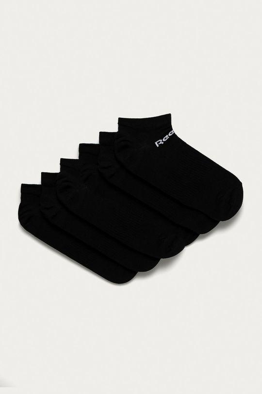 černá Reebok - Ponožky (6-pack) Unisex