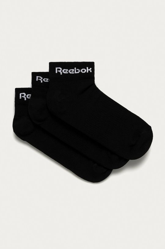 čierna Reebok - Ponožky (3-pak) Unisex