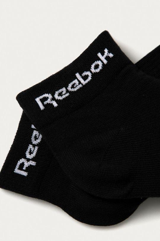 Reebok - Ponožky (3-pak) čierna