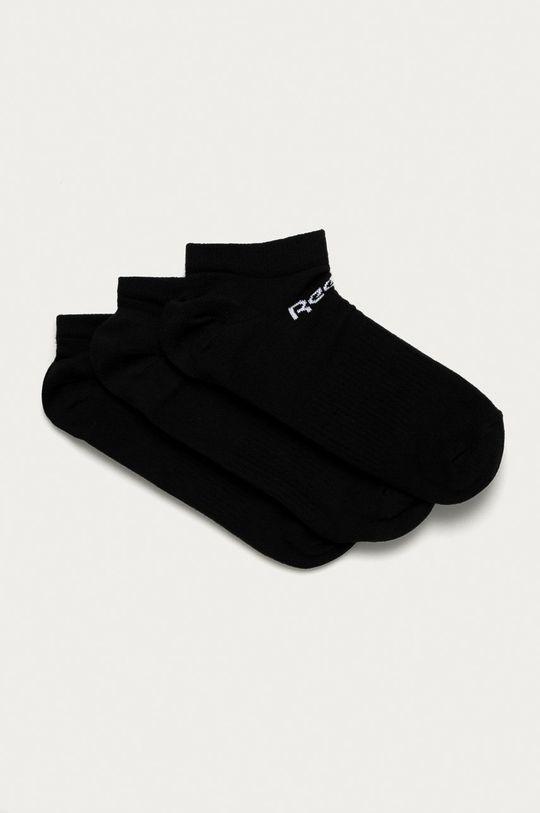 černá Reebok - Ponožky (3-pack) Unisex