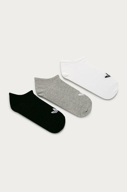 biały adidas Originals - Skarpetki (3-pack) Unisex