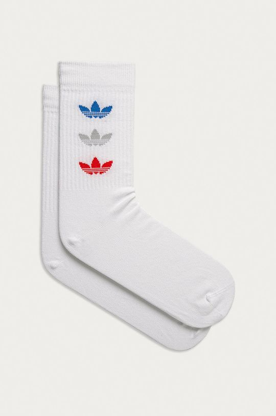 bílá adidas Originals - Ponožky (2-PACK) Unisex