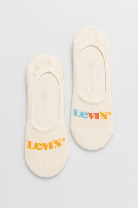 kremowy Levi's - Skarpetki (2-pack) Unisex