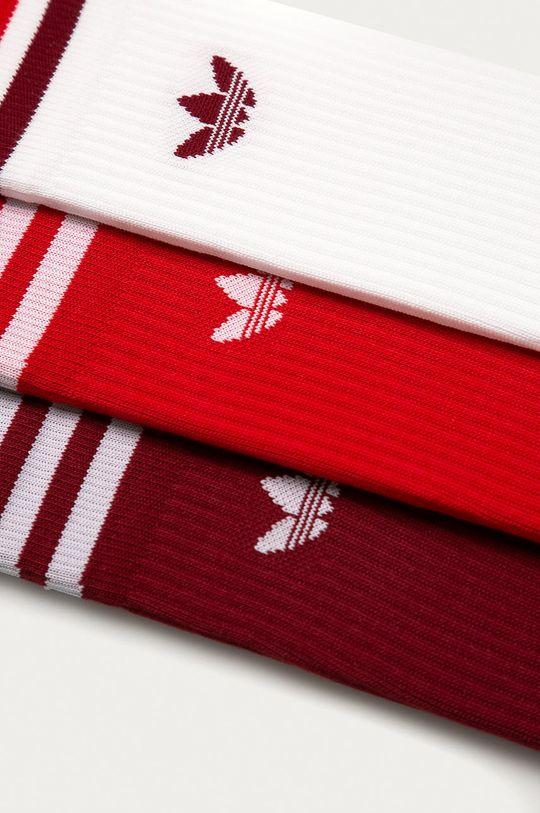 adidas Originals - Ponožky (3-pack) červená