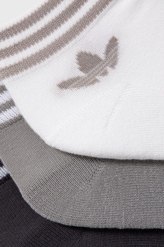 adidas Originals - Ponožky (3-pack) světle šedá