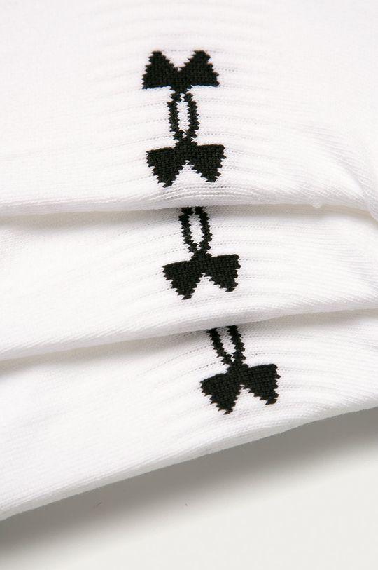 Under Armour - Kotníkové ponožky (3-pack) bílá