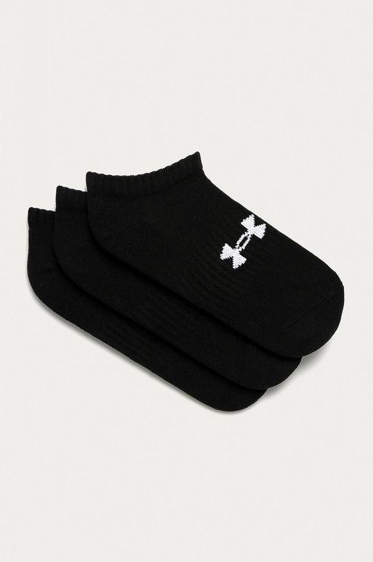 černá Under Armour - Kotníkové ponožky (3-pack) Unisex