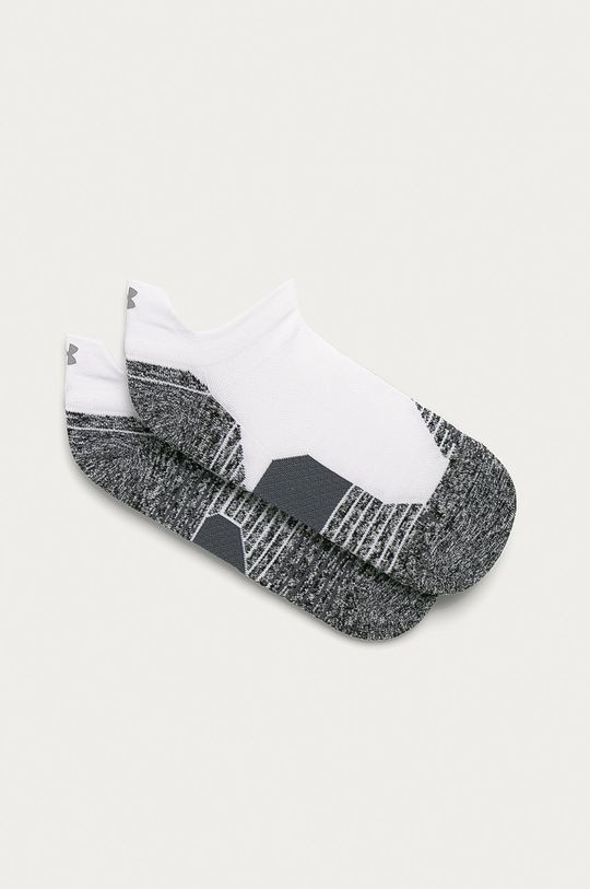 biela Under Armour - Ponožky Unisex