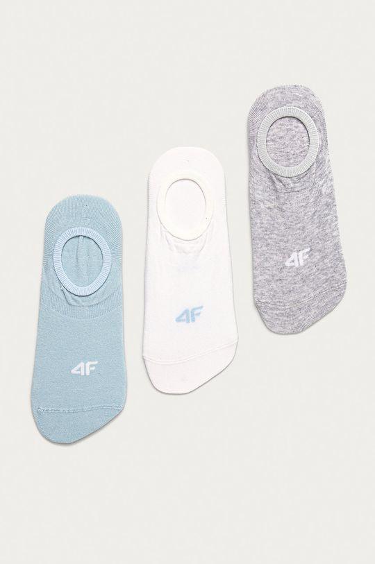 biela 4F - Ponožky (3-pak) Unisex