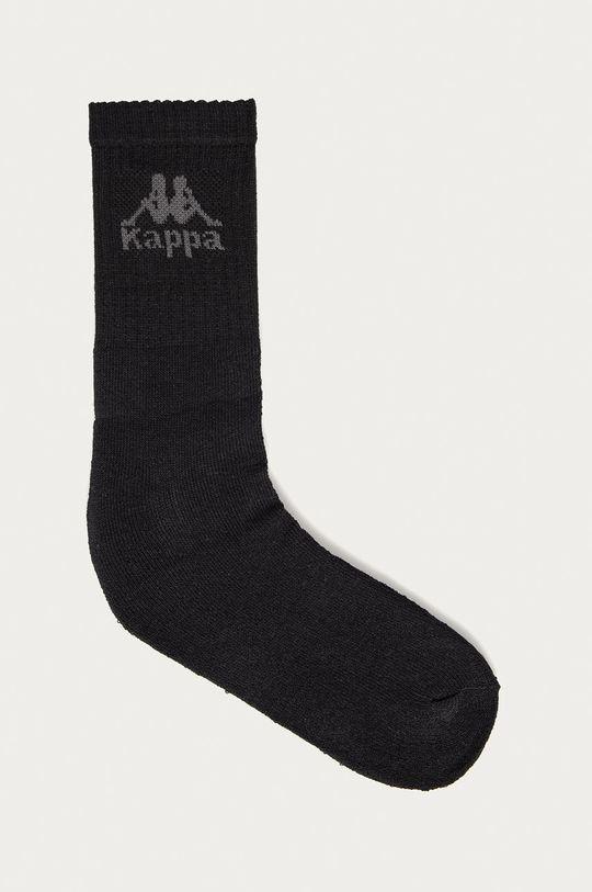 czarny Kappa - Skarpetki (6-pack) Unisex
