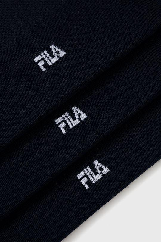 Fila - Ponožky (3-pack) námořnická modř