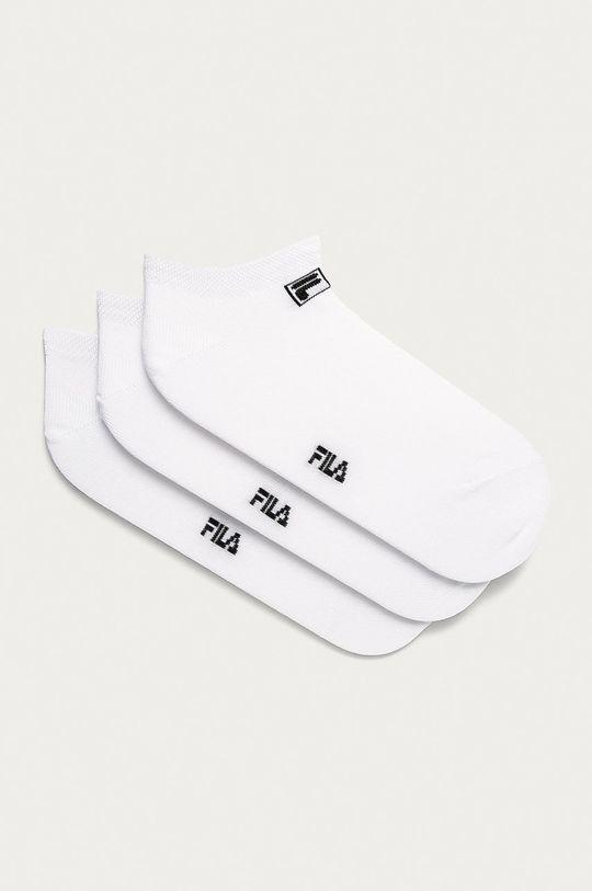 bílá Fila - Kotníkové ponožky (3-pack) Unisex