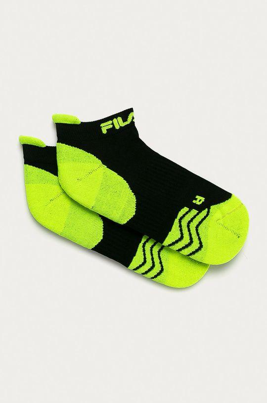 černá Fila - Ponožky (2-pack) Unisex