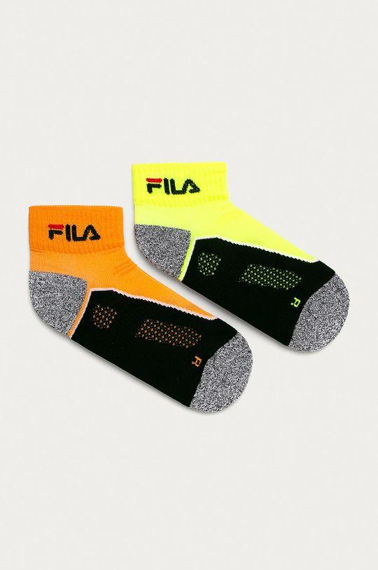 žlutá Fila - Ponožky (2-pack) Unisex