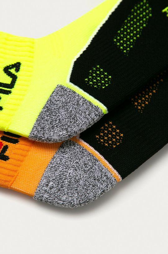 Fila - Ponožky (2-pack) žlutá