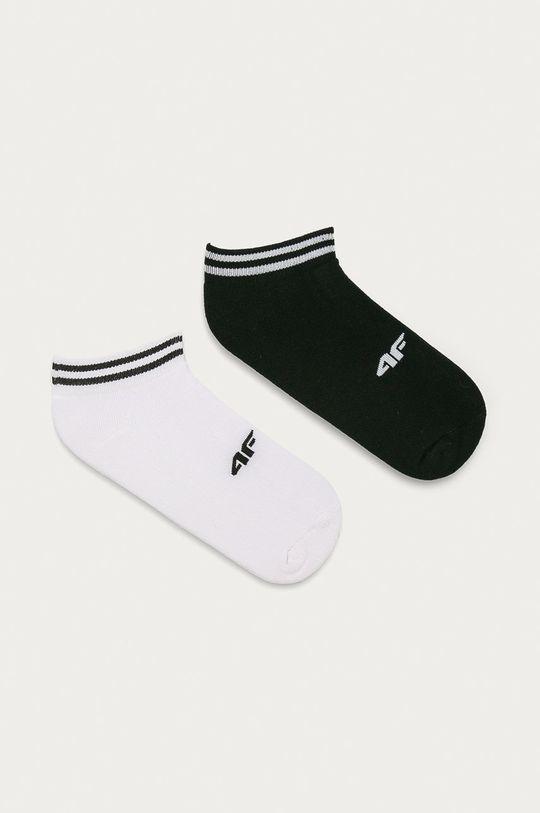 bílá 4F - Ponožky (2-pack) Unisex