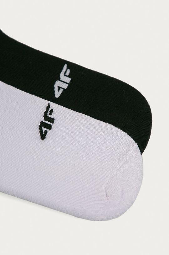 4F - Ponožky (2-pack) bílá