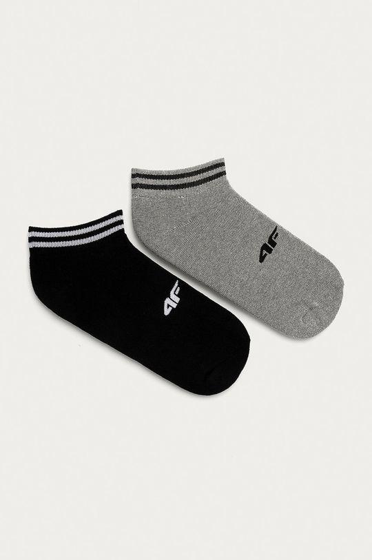 světle šedá 4F - Ponožky (2-pack) Unisex