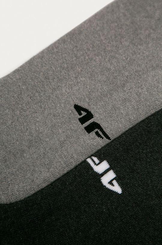 4F - Ponožky (2-pack) šedá