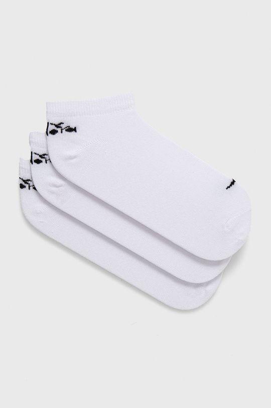 biały Diadora - Skarpetki (3-PACK) Unisex