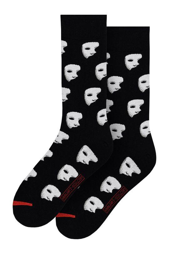 černá MuseARTa - Ponožky Gaston Leroux - Opera Garnier Unisex