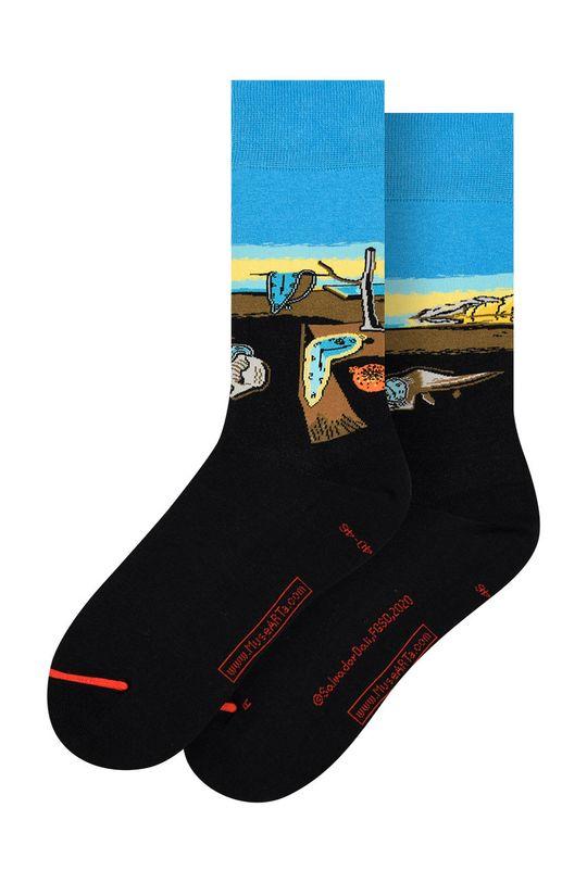 vícebarevná MuseARTa - Ponožky Salvador Dalí - The Persistence of Memory Unisex