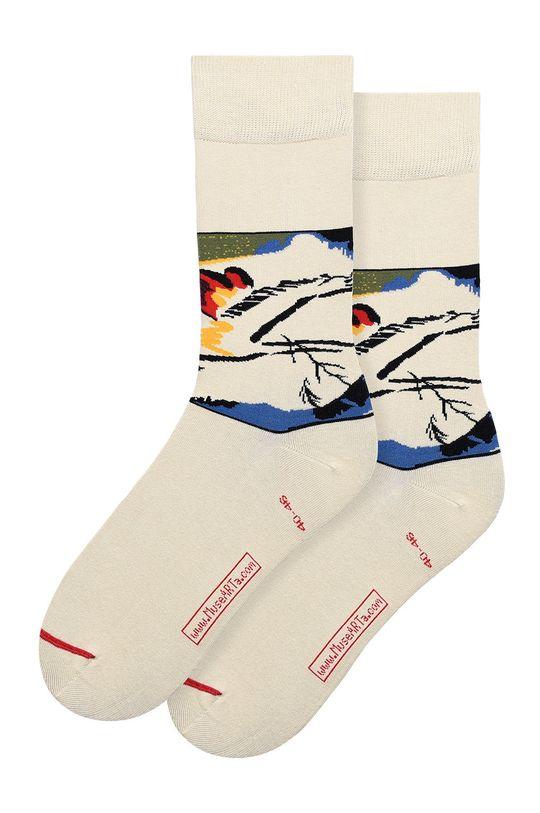 vícebarevná MuseARTa - Ponožky Vasily Kandinsky - Lyrical Unisex