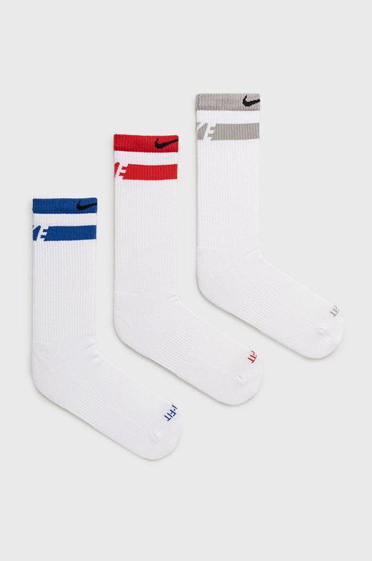 bílá Nike - Ponožky (3-pack) Unisex