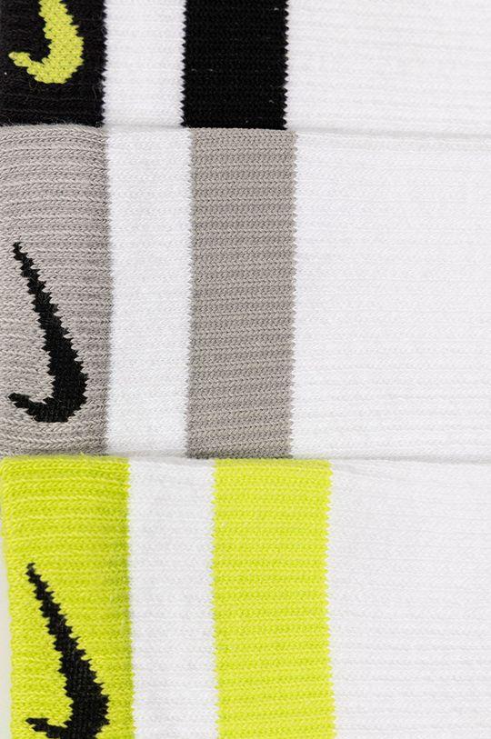 Nike - Ponožky (3-pak)  58% Bavlna, 2% Elastan, 1% Nylón, 39% Polyester