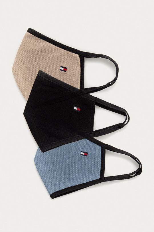 námořnická modř Tommy Hilfiger - Ochranná rouška (3-pack) Unisex