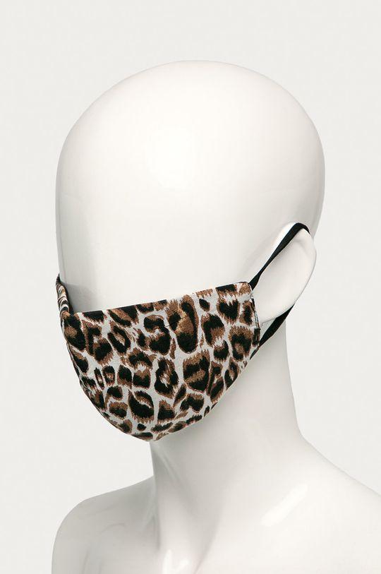 Vero Moda - Maseczka ochronna brązowy