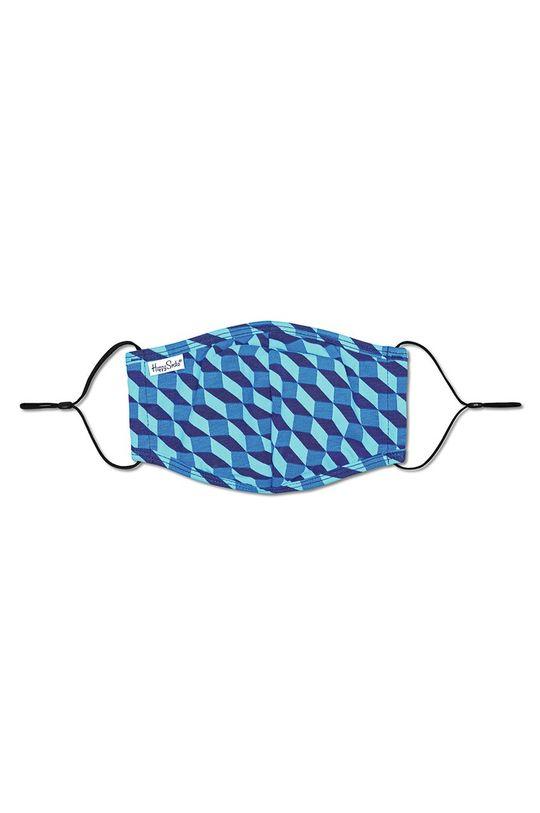 vícebarevná Happy Socks - Ochranná rouška pro opakované použití Filled Optic Unisex