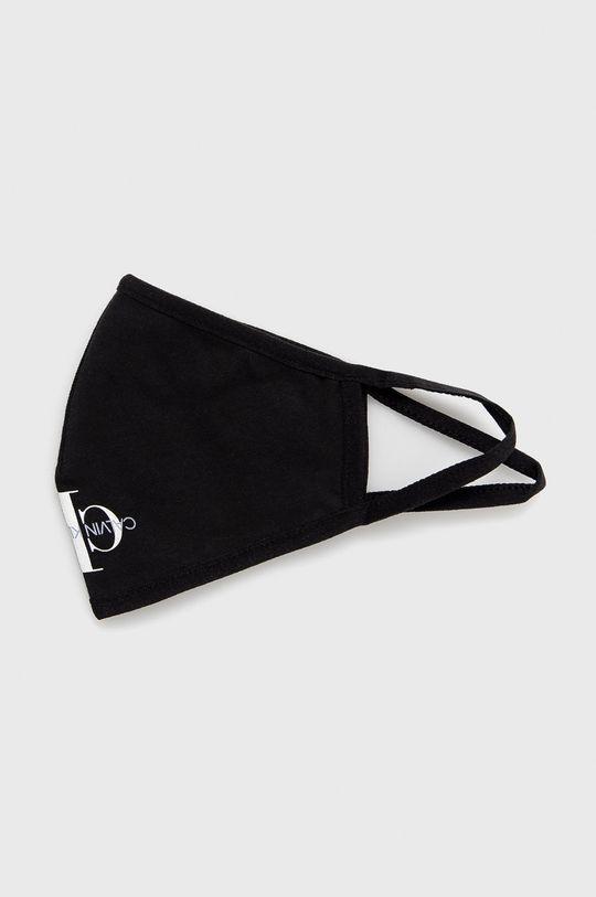 czarny Calvin Klein Jeans - Maseczka ochronna wielorazowego użytku Unisex