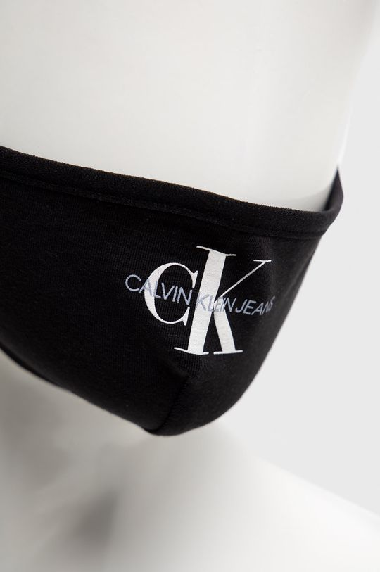 Calvin Klein Jeans - Maseczka ochronna wielorazowego użytku 95 % Bawełna, 5 % Elastan