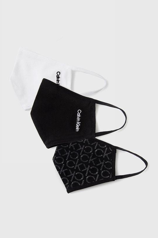 czarny Calvin Klein Jeans - Maseczka ochronna (3-pack) Unisex