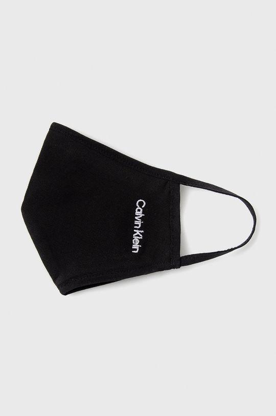 czarny Calvin Klein Jeans - Maseczka ochronna (3-pack)
